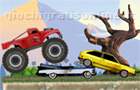 Giochi auto : Monster Truck Flip Jumps