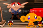Giochi online: Monkey go happy: Tales