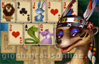 Giochi online: Rainforest Solitaire