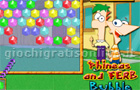 Giochi online: Phineas and Ferb Bubble