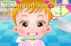 Baby Hazel Brushing
