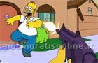 Giochi spara spara : Simpsons 3D Springfield